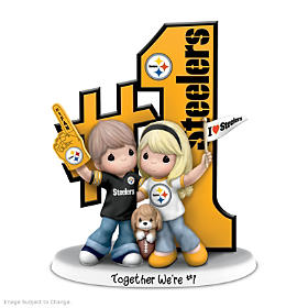 Together We're #1 Pittsburgh Steelers Figurine