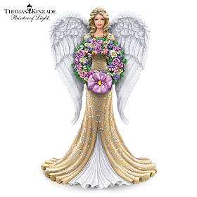 Heavenly Light Throughout The Season Angel Figurine