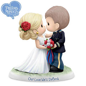 Precious Moments Our Love We'll Defend Figurine