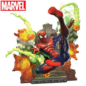 SPIDER-MAN A Hero Rises Sculpture