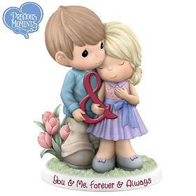 Precious Moments You & Me Forever & Always Figurine