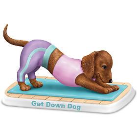 Get Down Dog Figurine