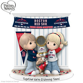 Together We're A Winning Team Boston Red Sox Figurine
