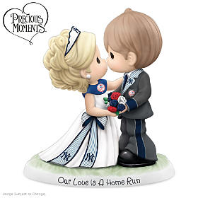 New York Yankees Our Love Is A Home Run Figurine