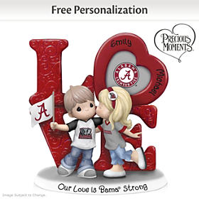 Our Love Is Bama Strong Personalized Figurine