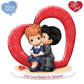 Precious Moments Our Love Needs No 'Splainin Figurine