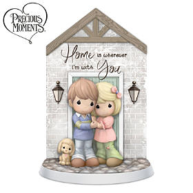 Precious Moments Home Is Wherever I'm With You Figurine