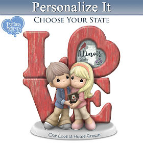 Our Love Is Home Grown Personalized Figurine