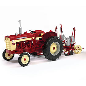 1:16-Scale International 340 Diecast Tractor With Planter