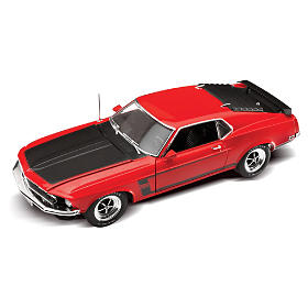 1:18-Scale 1969 Ford Mustang BOSS 302 Diecast Car