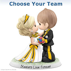 Precious Moments NFL Wedding Figurine