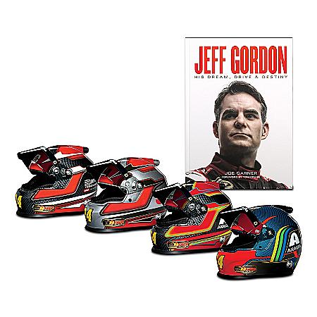 1:3-Scale Tribute To Jeff Gordon's Legacy Racing Helmet Set