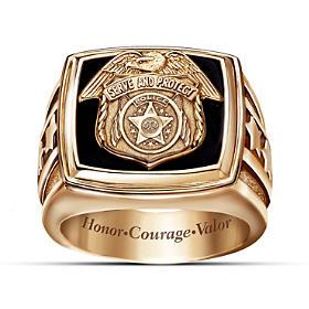 Police Officer Ring