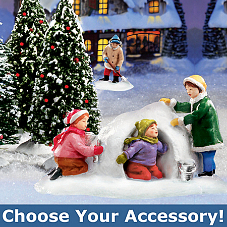 Photo of Hawthorne Village Winter Accessories: Holiday Home Decor by The Bradford Exchange Online