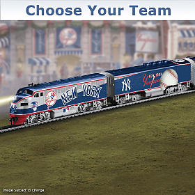 Choose Your Team! Major League Baseball Train Collection