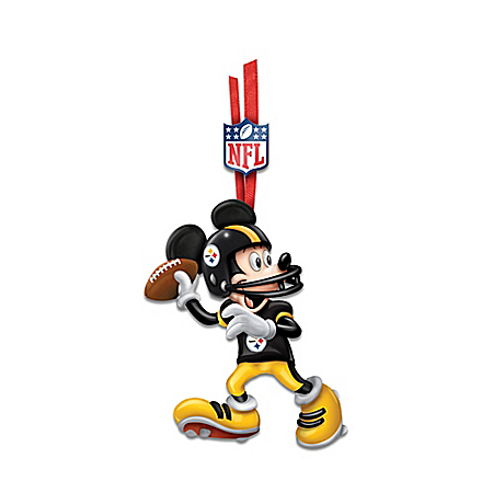 Photo of NFL Disney Magic Ornament Collection by The Bradford Exchange Online