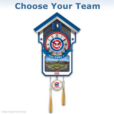MLB Team Tribute Wall Clock: Choose Your Team by