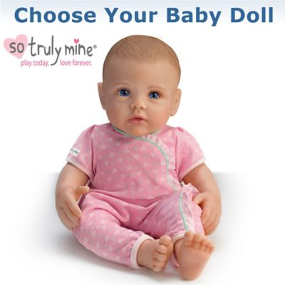 3319f6a936a1 So Truly Mine Handcrafted Lifelike Play Baby Doll