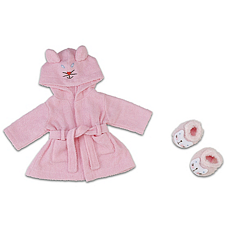 Photo of Pretty Kitty Baby Doll Apparel Accessory Set by The Bradford Exchange Online