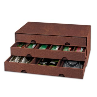 Leather-Look Custom-Designed Train Storage Case by