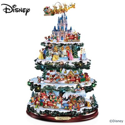 The Ultimate Disney 50-Character Tabletop Christmas Tree by
