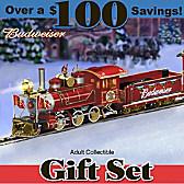Budweiser Holiday Express Train Set