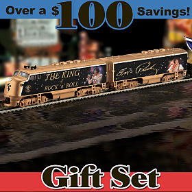 King Of Rock 'N' Roll Express Train Set