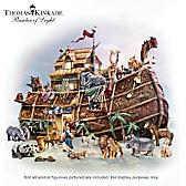 Thomas Kinkade Noah's Ark Sculpture Set
