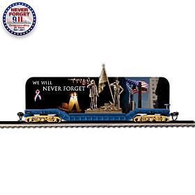 We Will Never Forget Flat Bed Train Car