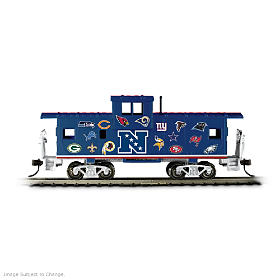 NFL Caboose Train Accessory