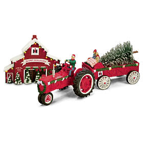 75 Years Of Farmall Red Anniversary Edition Figurine Set
