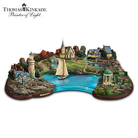 Thomas Kinkade Inspiration Cove Sculpture