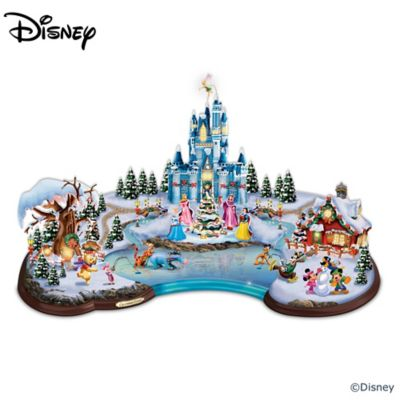 disney christmas cove sculpture - Disney Christmas Decorations