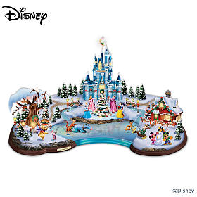 Disney Christmas Cove Sculpture