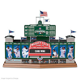 Wrigley Field - Go Cubs Go Sculpture