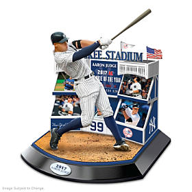 Signature Moment AL Rookie Of The Year Aaron Judge Sculpture