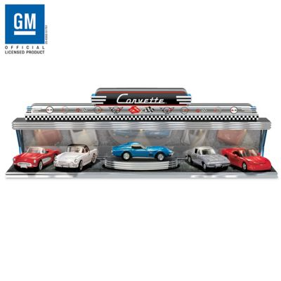 Corvette - America's Sports Car Diecast Car Set With Display by