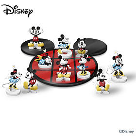 Disney Mickey Mouse & Minnie Mouse Tic-Tac-Toe Set