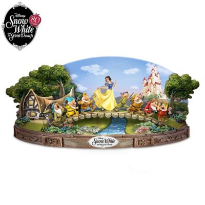 Snow White And The Seven Dwarfs Musical Sculpture by
