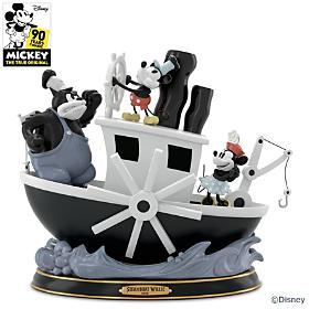 Disney Steamboat Willie Sculpture