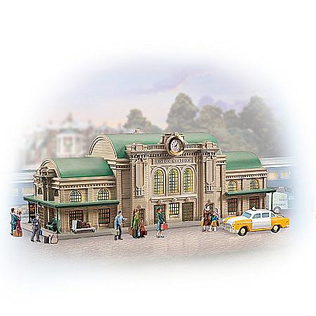 Legendary Union Station Sculpture Train Accessory