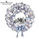 Thomas Kinkade Holiday Brilliance Wreath