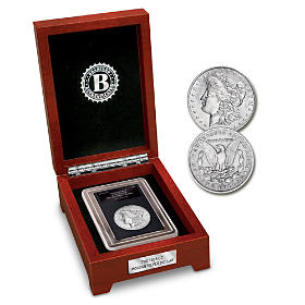 The First Carson City Morgan Silver Dollar Coin