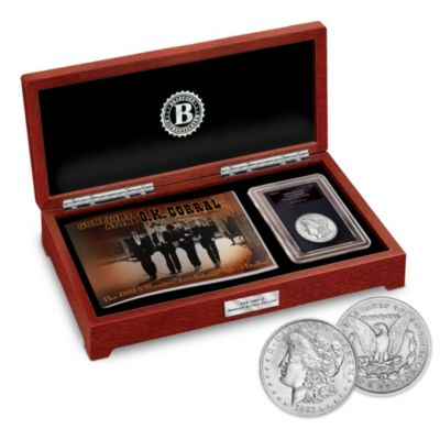 The 1881-S Morgan Tombstone Silver Dollar Coin by