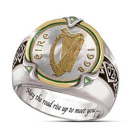 Irish Coin Ring