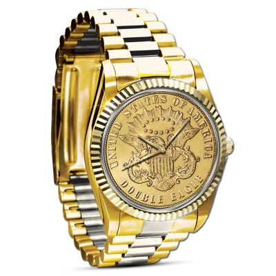Mens Watch The 1849 20 Eagle Proof Mens Watch