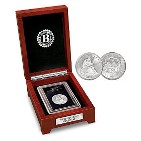 The Seated Liberty Silver Half Dollar Coin