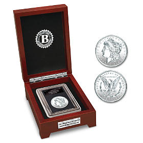 The Last Uncirculated Morgan Silver Dollar Coin