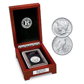 The Secret First Year Of Issue Peace Silver Dollar Coin