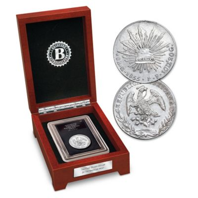The First American West Silver Dollar: Mexican 8 Reales Coin